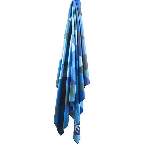 Полотенце Lifeventure Soft Fibre Triangle 150 x 90 см Blue Giant, фото 2