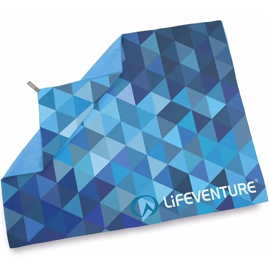 Полотенце Lifeventure Soft Fibre Triangle 150 x 90 см Blue Giant
