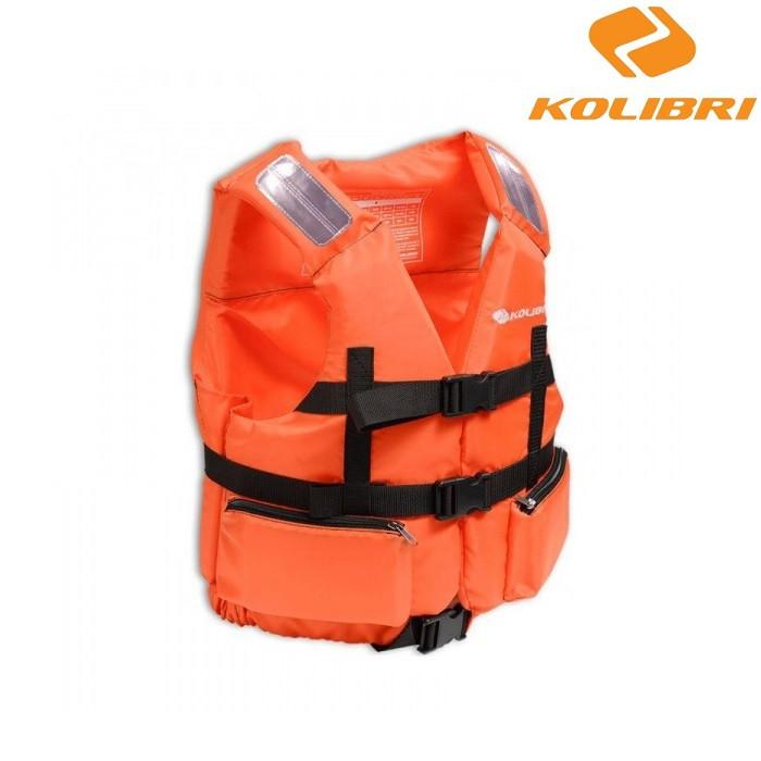 Страховочный жилет Kolibri 70-90кг оранжевый