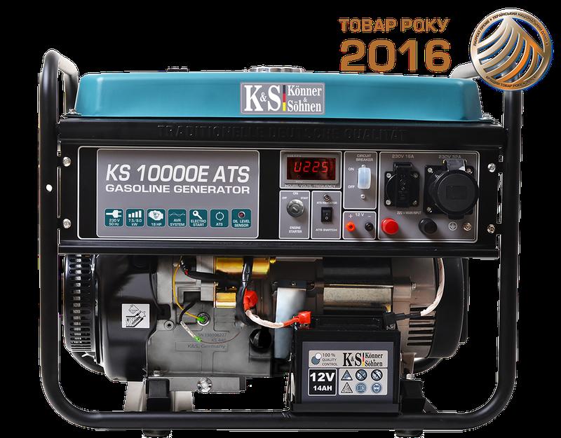 Генератор бензиновий Konner&Sohnen KS 10000E ATS