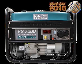 Генератор бензиновий Konner&Sohnen KS 7000