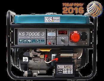 Генератор бензиновий Konner&Sohnen KS 7000E-3