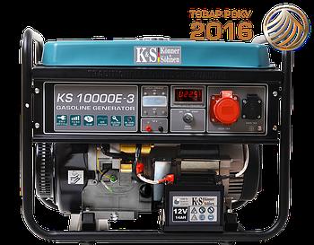 Генератор бензиновий Konner&Sohnen KS 10000E-3