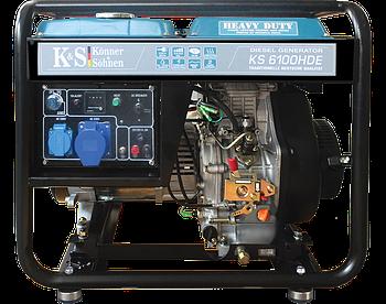 Генератор дизельний Konner & Sohnen KS 6100HDE