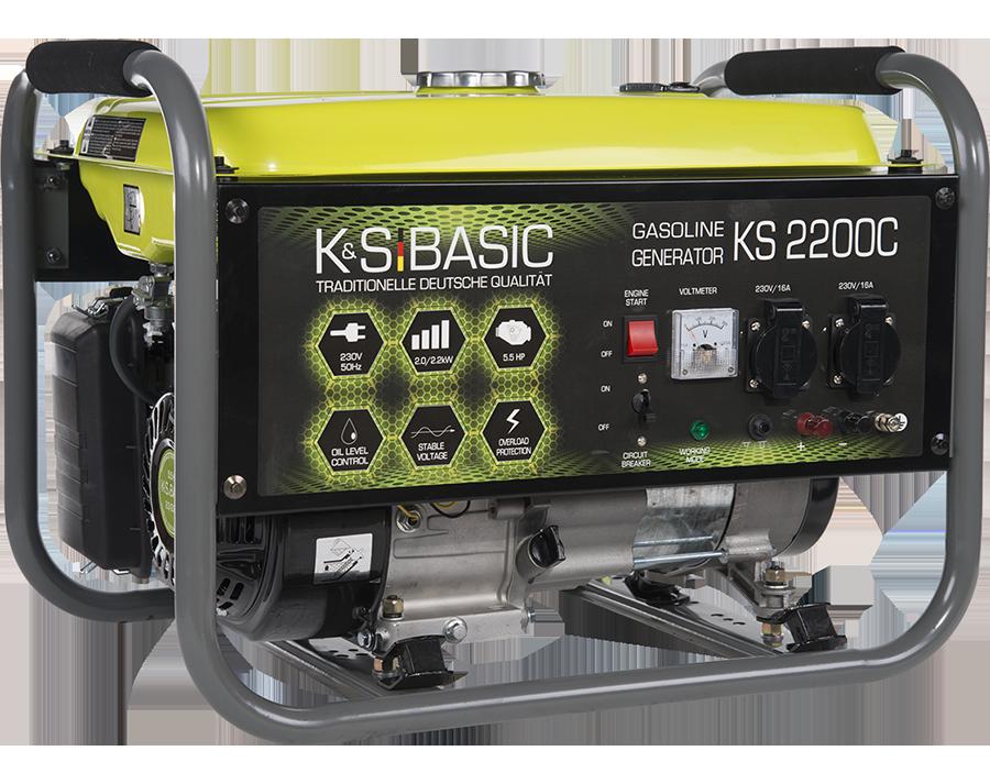 Генератор бензиновий Konner&Sohnen Basic KS 2200C