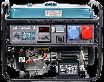 Генератор бензиновий Konner&Sohnen KS 7000E 1/3