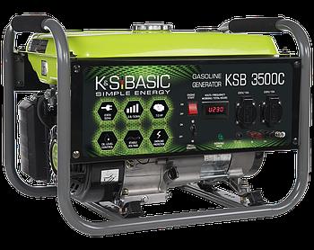 Генератор бензиновий Konner&Sohnen Basic KSB 3500C