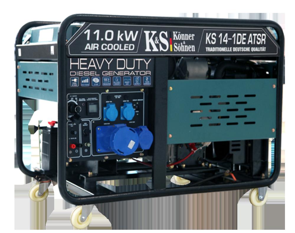 Генератор дизельний Konner&Sohnen KS 14-1DE ATSR