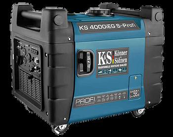 Генератор инверторный Konner&Sohnen KS 4000iEG S