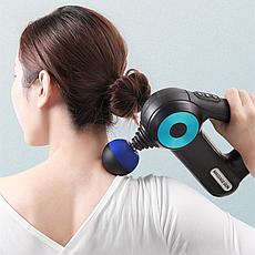 Вибрационный массажер Massage gun, фото 3