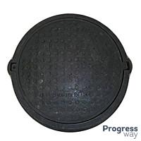 Люк полимерпесчаный черный 540 мм х 750 мм Гарден максимальный вес 12,5 тонн