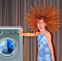 Если стиральная машинка бьется током.
