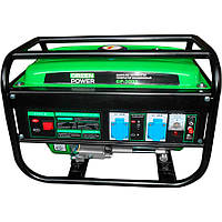 Бензиновый генератор GREEN POWER GP-3000 (4-х тактный, 220V) SVT