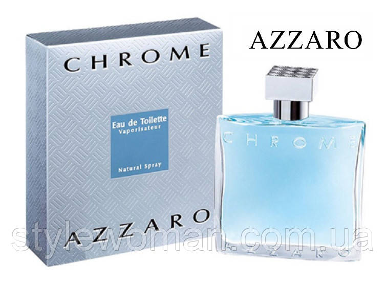 Azzaro Chrome Аззаро Хром мужской реплика