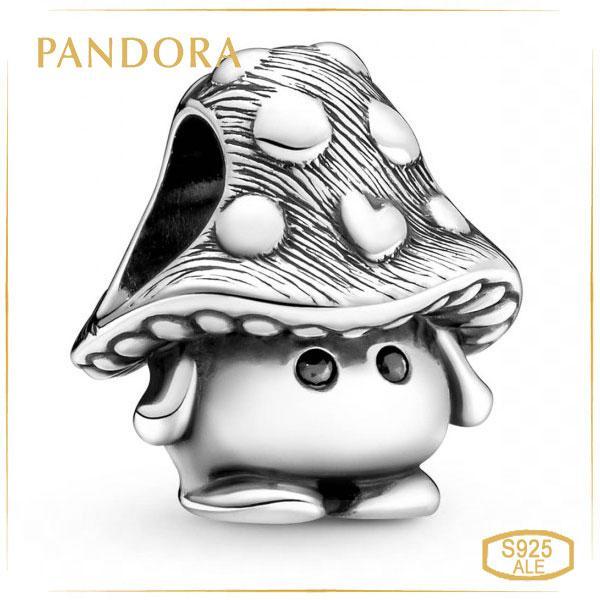 Шарм Пандора милый гриб Pandora 799528C01