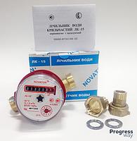 Счетчик для горячей воды лк-15 Новатор 1/2 дюйма