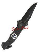 Нож складной  Car Knife Rescue MIL-TEC Black