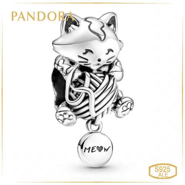 Пандора Шарм Котёнок с клубком Pandora 799535C00