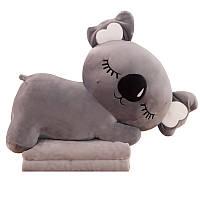 Игрушка-подушка 3в1 в форме коалы 60 см