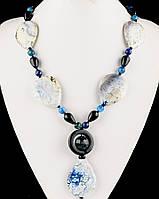 Ожерелье из камня агат