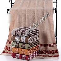 Махровое банное полотенце Три узора (6)