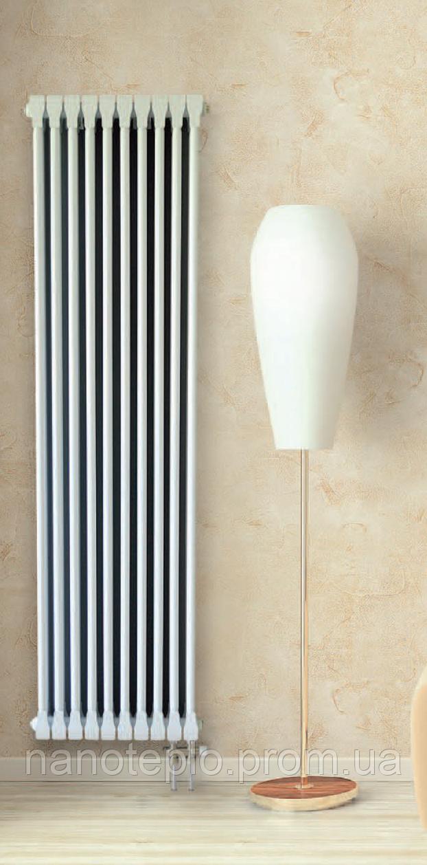 Алюминиевый радиатор 2-х трубчатый 1500мм. 5 секций
