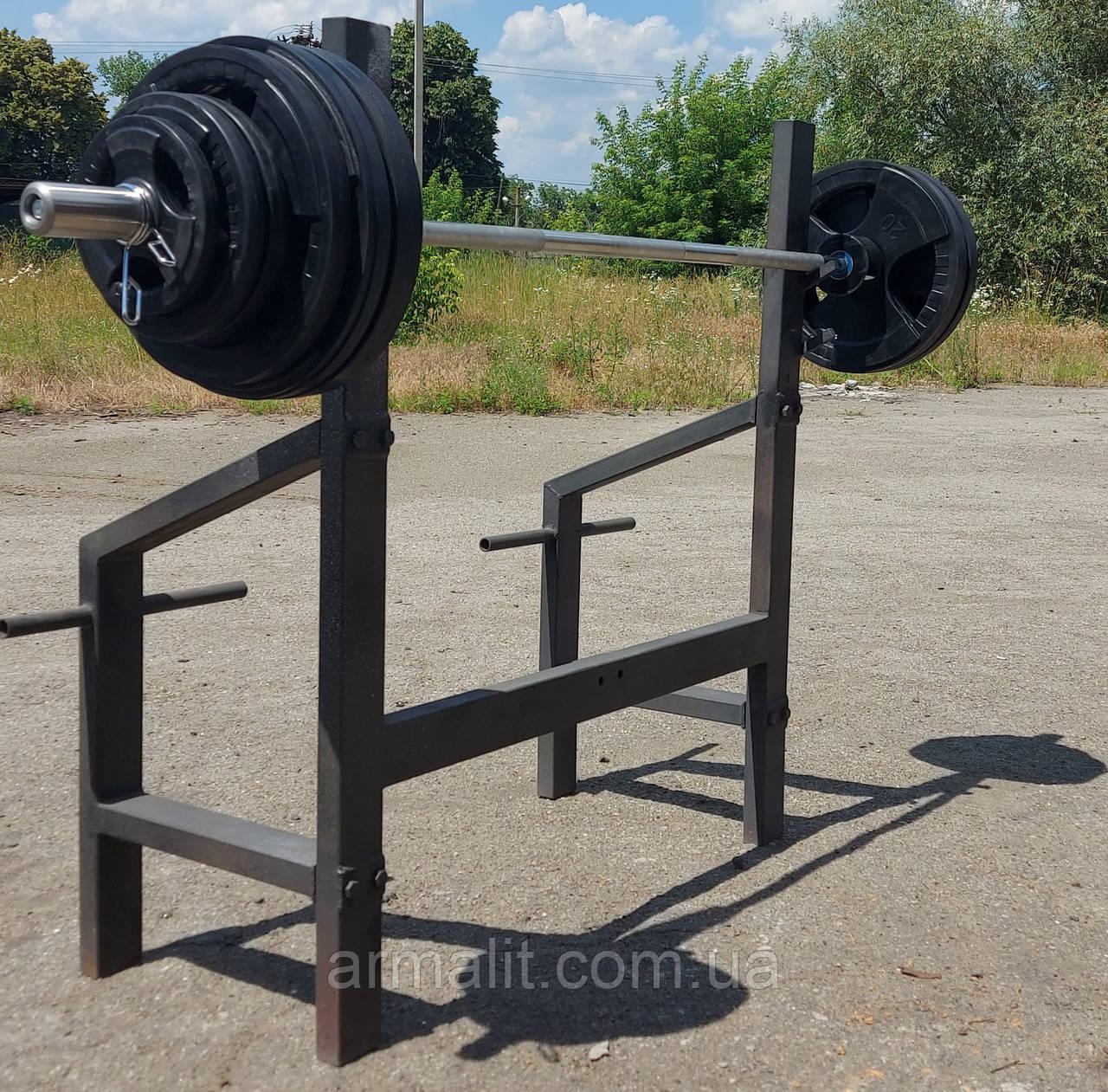 Штанга 215 кг олімпійська обгумована