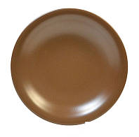 Тарелка керамическая глубокая 22 см Keramia  24-237-014 Табако