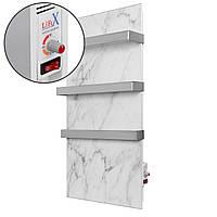 Полотенцесушитель керамический LIFEX Warm Towel 500R | Белый мрамор | инфракрасный с терморегулятором
