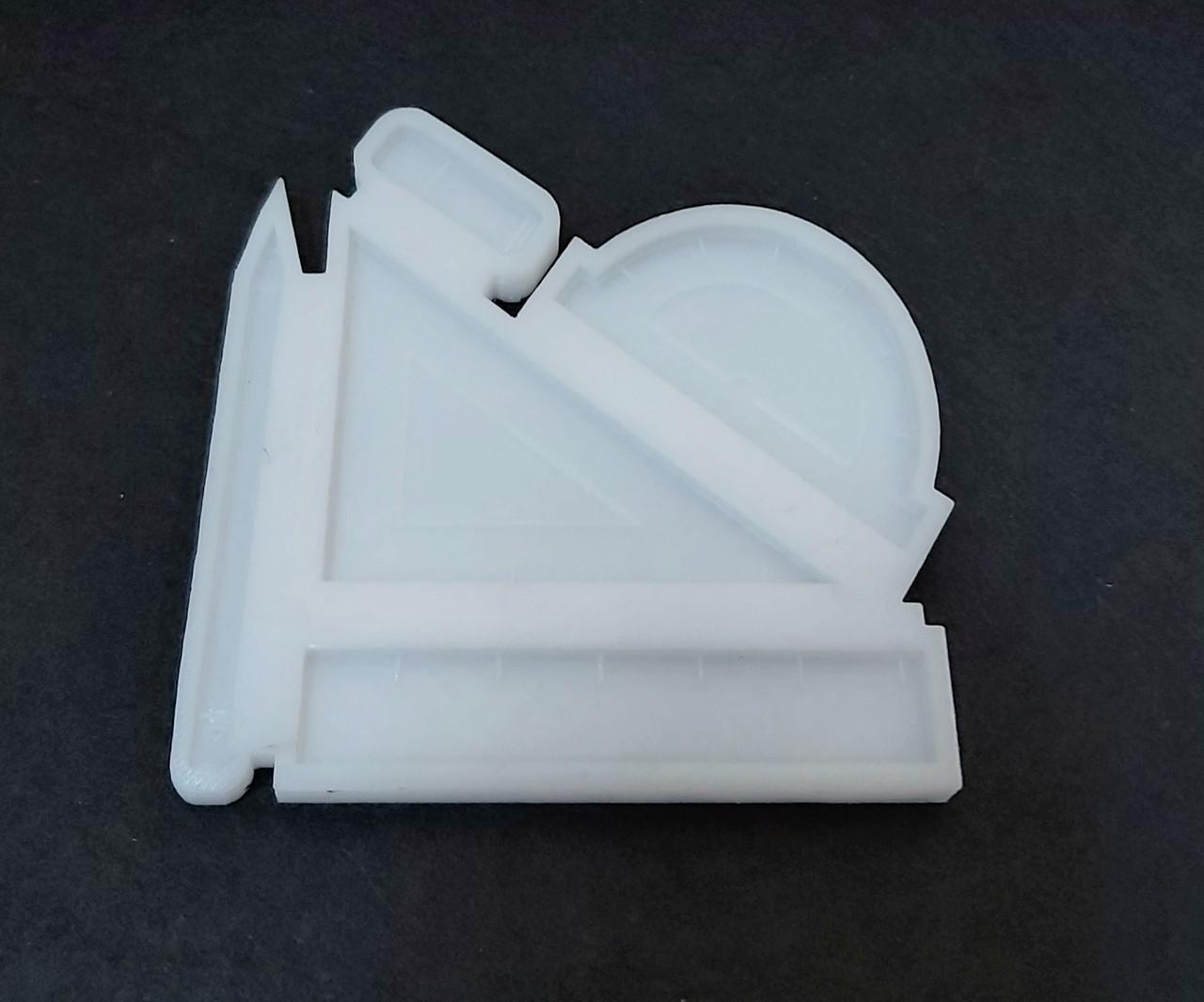 Силіконовий молд льодяники 10*10 см, Шкільний набір