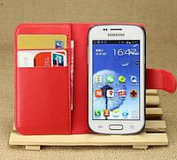Чехол-бумажник для Samsung Galaxy Star Plus Duos s7262