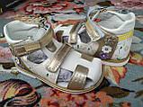 Босоніжки для дівчинки 24 р 15 см, фото 4