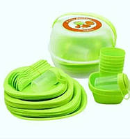 Пластиковий посуд для пікніка