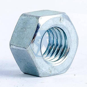 Гайка М14 ГОСТ 5915 кл.пр 10 шестигранная цинк — 130 шт/упаковка, фото 2