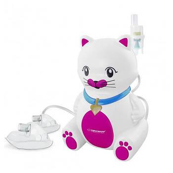 Ингалятор детский Esperanza ECN003 Kitty компрессорный небулайзер