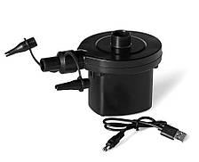 Насос электрический аккумуляторный для лодки матраса c зарядкой от USB 4.8V
