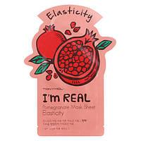 Листовая маска маска с гранатом Tony Moly I'm Real Pomegranate Mask Sheet Elasticity 21 мл