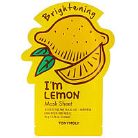 Листовая маска для лица Tony Moly I m Real Lemon Mask Sheet 21 мл