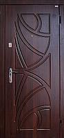 Бронированная дверь с декоративной, ламинированой накладкой