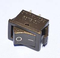 Выключатель KCD5-101 (KCD11, SMRS-101) черный 1-группа OFF-ON, Daier