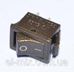 Выключатель KCD5-101 (SMRS-101) черный 1-группа OFF-ON, Daier