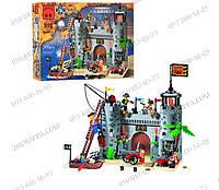 """Конструктор Brick 310/705563 """"Пиратский Замок"""", 366 элементов, подвижные детали, настоящий мир пиратов"""