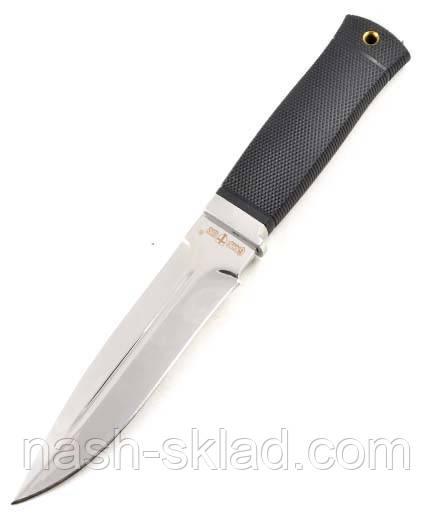 Нож боевой Лазутчик, армейский нож, цельный клинок, нескользящая рукоять