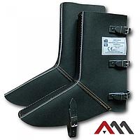 Наголінники з захистом для ніг NGNS1 чорного кольору ARTMAS