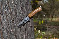 Нож охотничий ручной работы Робинзон с кожаным чехлом + эксклюзивные фото