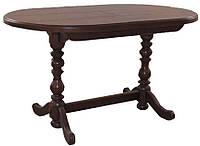 Стол раздвижной овальный для гостиной «Гирне 5»  1200(1600)х800