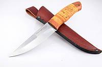 Нож охотничий Скиф, рукоять береста, с  эксклюзивными фотографиями
