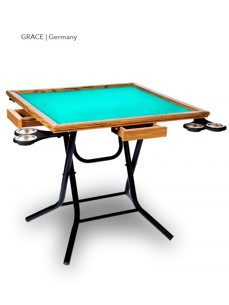 Картковий стіл Grace, для ігор, 4 гравця, 24 міс. гарантія, Німеччина/Китай