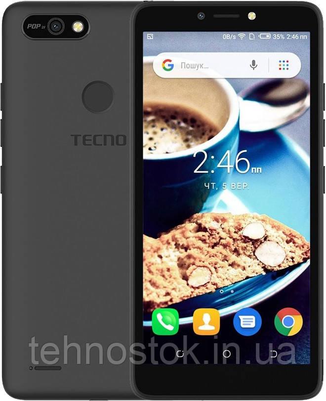 Смартфон Tecno POP 2F (B1F) 1/16GB Midnight Black Гарантия 13 мес.