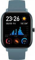 Часы Smart Watch Amazfit GTS Steel Blue Гарантия 12 месяцев
